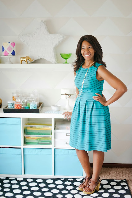 Dessert table designer Shauna Younge's office | pics: Melissa Oholendt