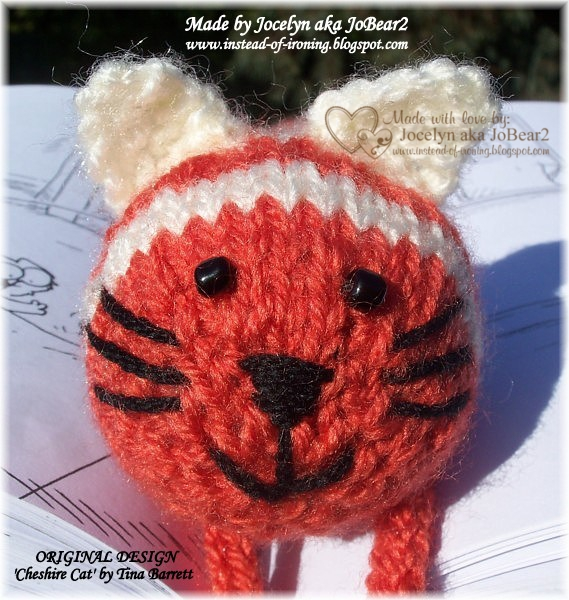 Owl Egg Cosy Knitting Pattern : Instead of Ironing Blogspot: Knitted Cat Bookmark and Felt ...