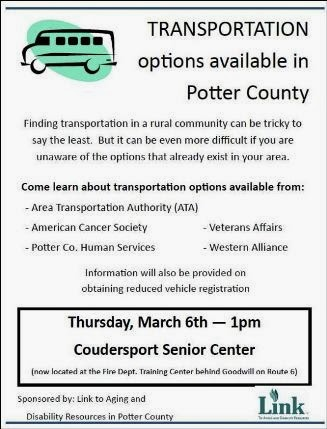 3-6 Transportation Options In Potter County