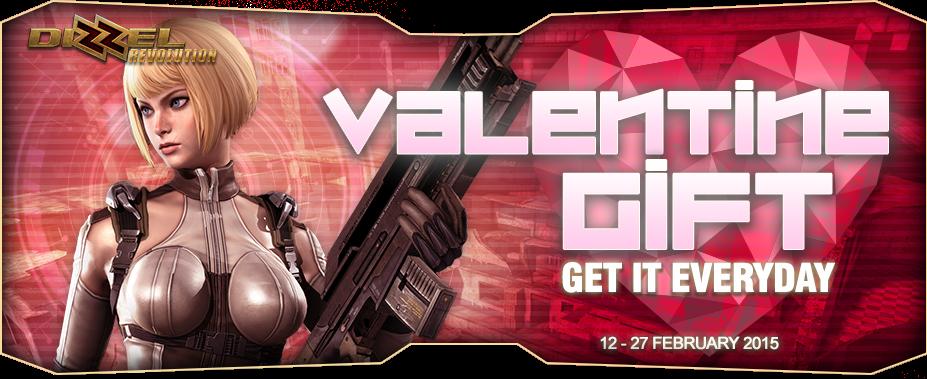 Dizzel Hadirkan Event Valentine Gift