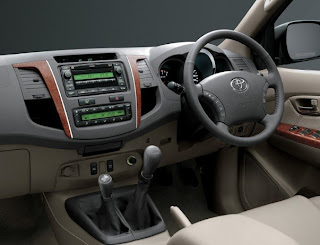 New Toyota Fortuner 2012