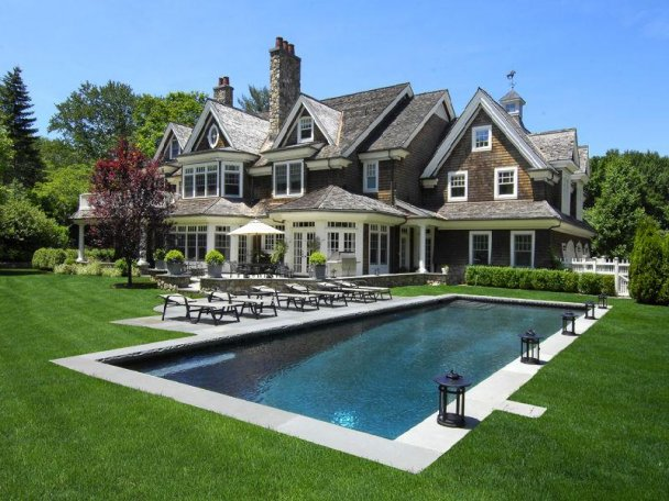 In good taste pool time for Pool design hamptons