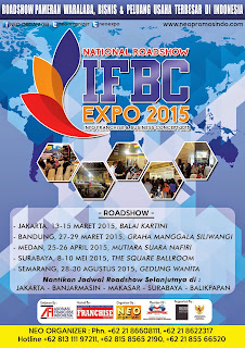 National Roadshow #IFBCexpo2015 in several Big Cities Indonesia
