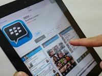 Cara Menggunakan BBM di iPad