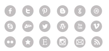 ajouter icones reseaux sociaux blog