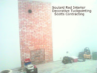 Soulard Red Interior Tuckpointing by Scotts Contracting