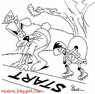 Thỏ và Rùa [Truyện tranh chế]