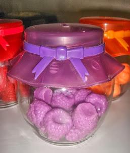 Compota de frutas de sabonete