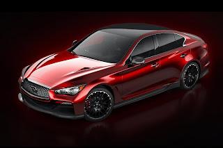 Infiniti Q50 Eau Rouge Concept (2014) Front Side