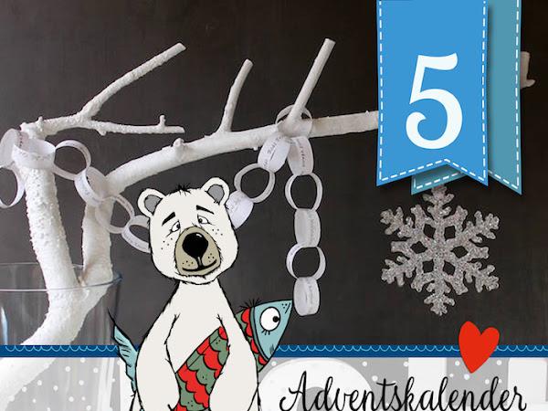 Adventskalender - Türchen Nr. 5 - Ganz einfach aber mit ganz viel HO HO HO ! DIY by Katrin Rembold / soulsister meets friends