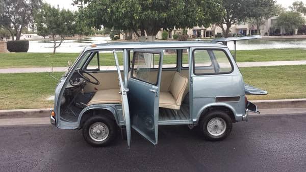 1970 Subaru 360 Sambar Micro Van | Auto Restorationice