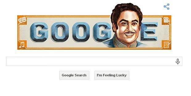 Google's Tribute to Kishore Kumar