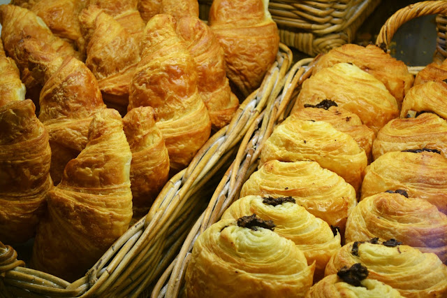 pain au chocolat, seattle, la panier, pike place market, bakery, croissant, pastries, french