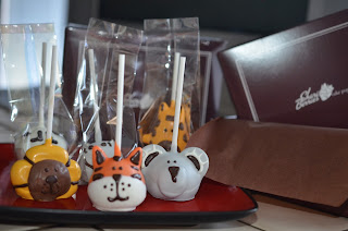 Shari's Berries Handmade Zoo Animal Cake Pops