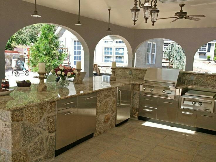 Nice Be inspire by these beautiful outdoor kitchens