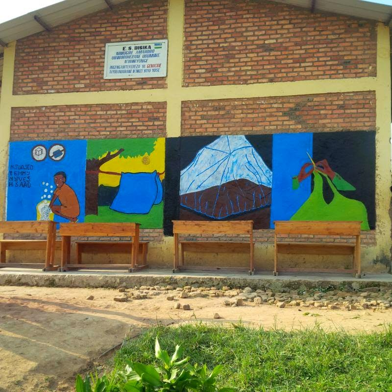 murals for madagascar, murals for development, malaria murals in africa, murals for malaria prevention, stomp out malaria, peace corps madagascar,