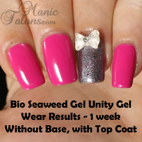 Bio Seaweed Unity Gel Wear Test Results