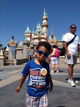 Noah at Disneyland
