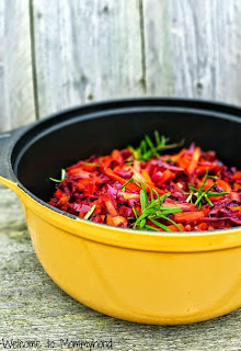 Easy, healthy recipes: cabbage and carrots #paleo, #easyhealthyrecipes, #vegan