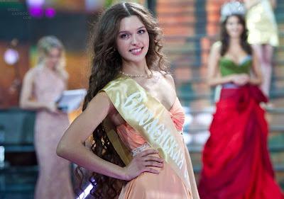 Elizaveta Golovanova Crowned Miss Russia 2012- 21 Pics