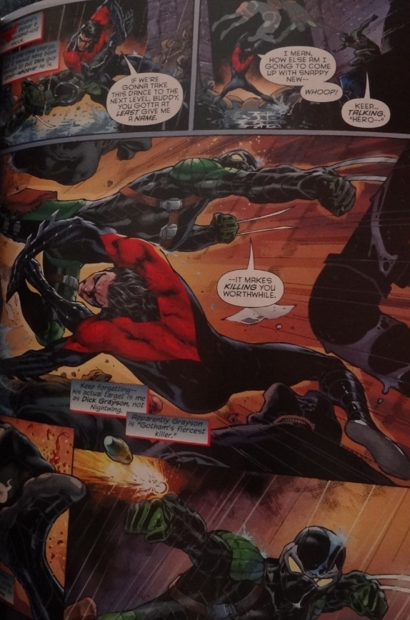 wishes to assassin Dick Grayson  without knowing Nightwing is DickDick Grayson New 52 Nightwing