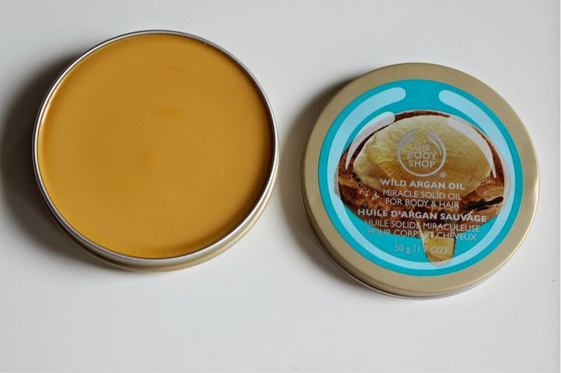 The Body Shop Wild Argan Oil Collection