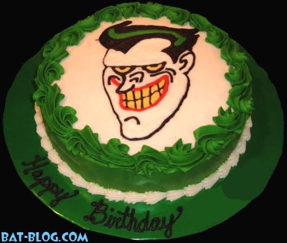 Batman 75 : Joyeux Anniversaire ! Joker-batman-birthday-cake