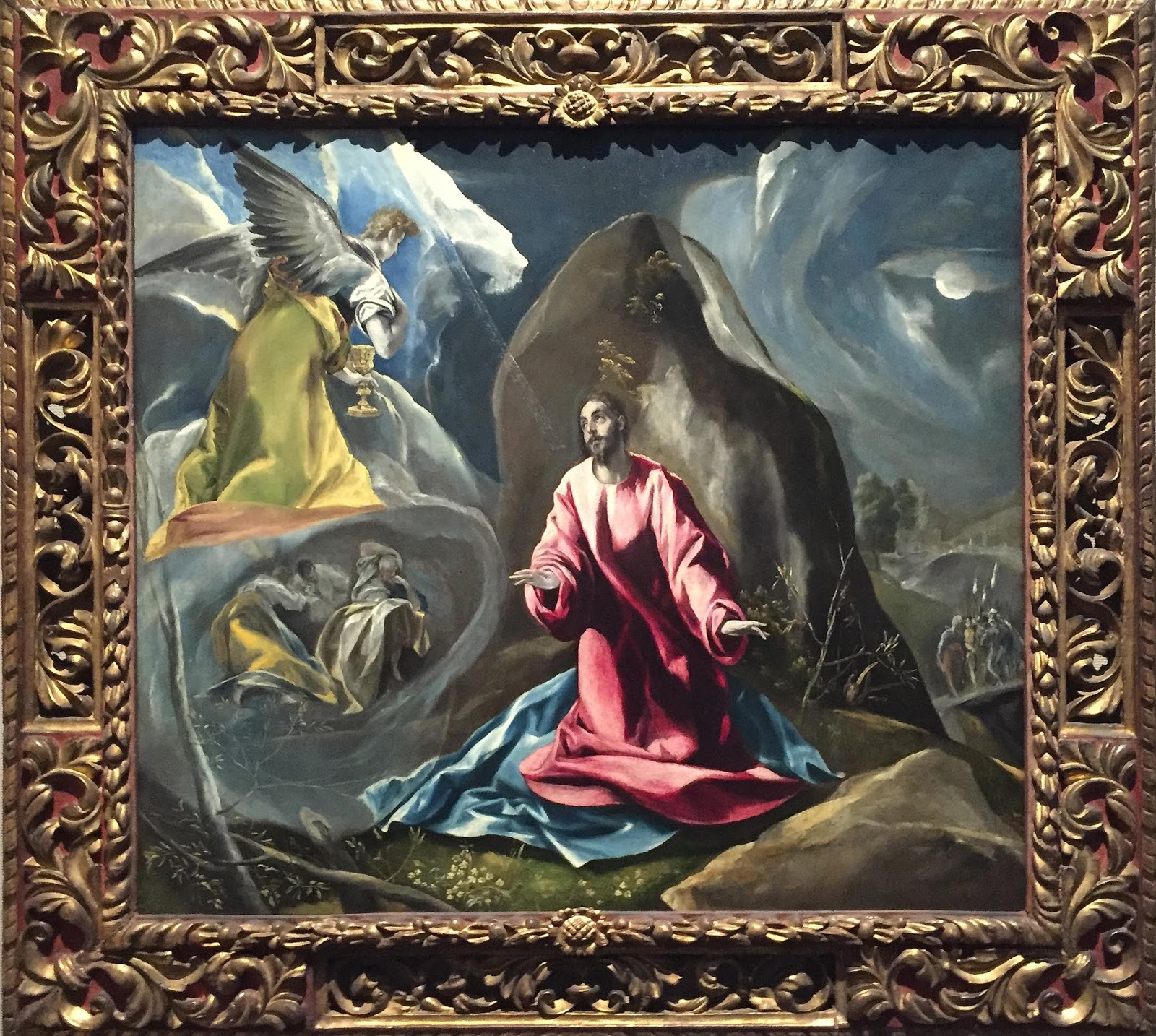 an analysis of the agony in the garden by el greco El greco's the agony in the garden of gethsemane tells the story of the first  event in the story of christ's passion, or the easter story.