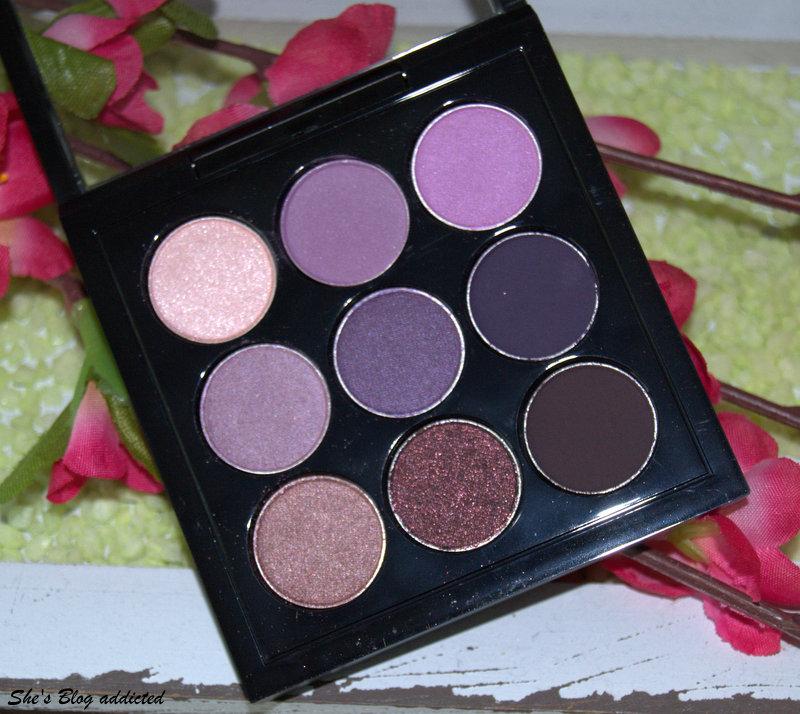 she 39 s blog addicted mac purple times nine 9er eyeshadow. Black Bedroom Furniture Sets. Home Design Ideas