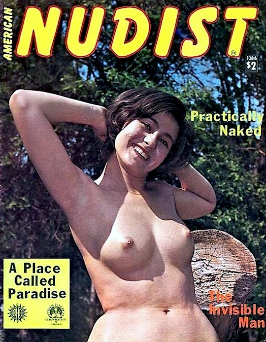Vintage Magazine Teen Nudist Jaybird | Girl Picture