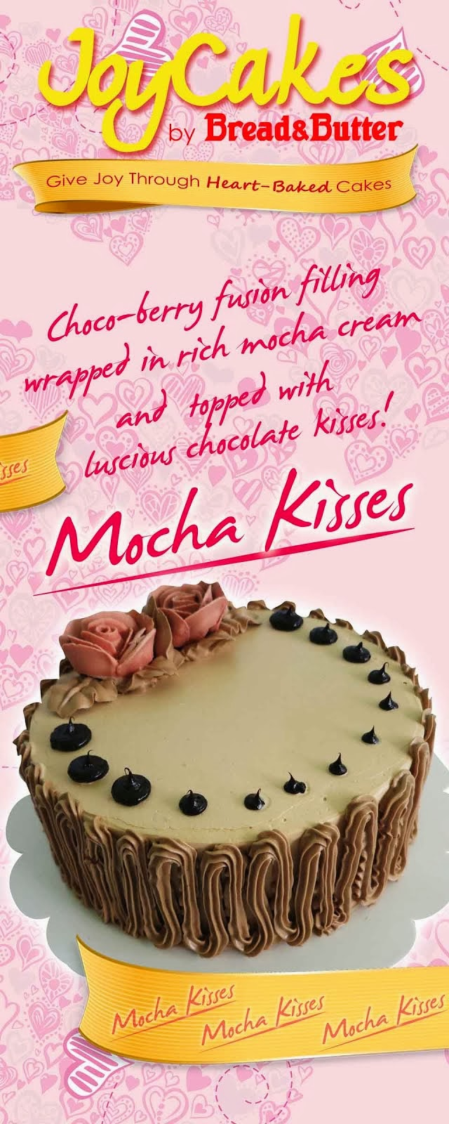 Mocha Kisses Joycakes by Bread & Butter
