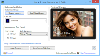 Lock Screen Customizer