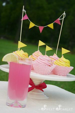 How To Make Pink Lemonade Cupcakes