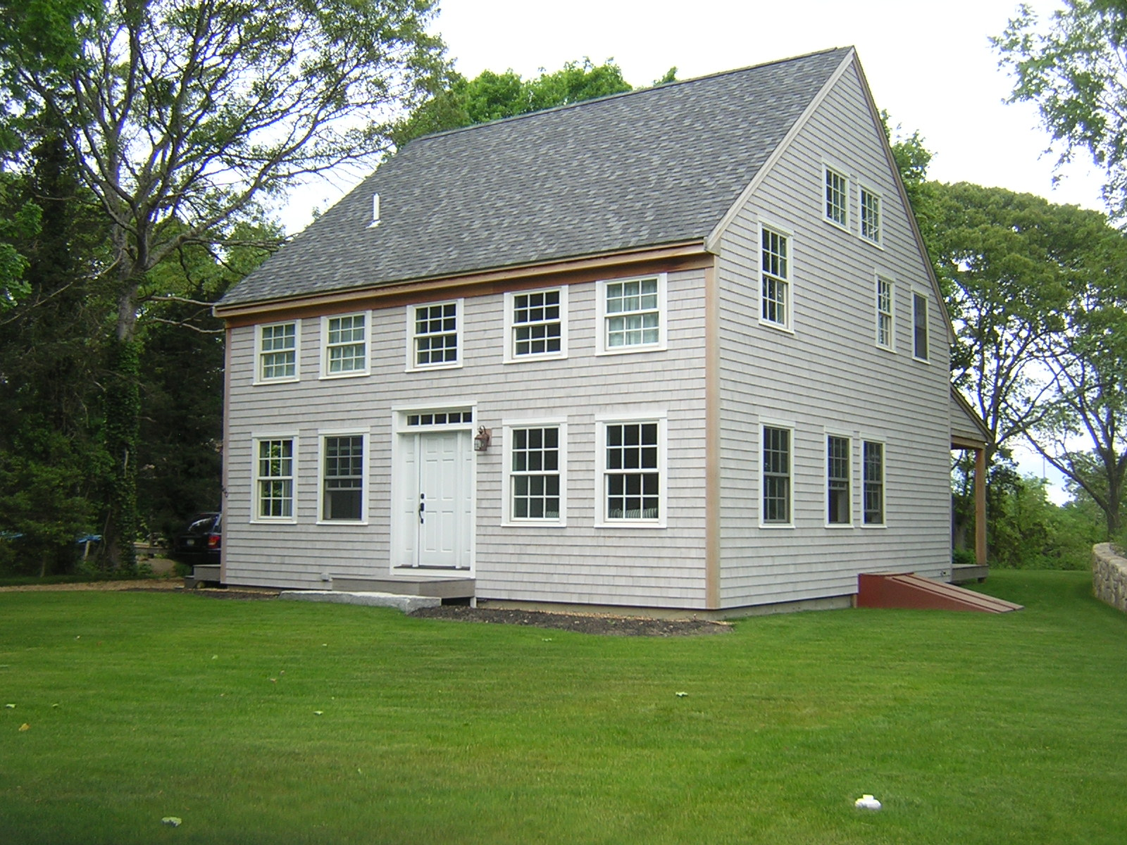 Best woodworking project post and beam home plans floor for Small colonial home plans