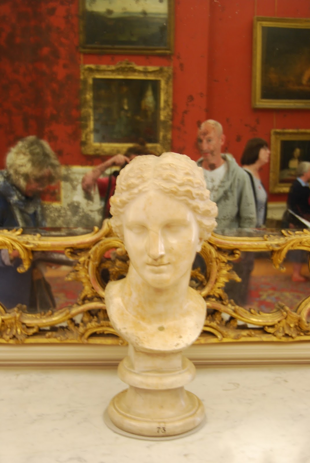Head of Aphrodite, Petworth House, photo by Modern Bric a Brac