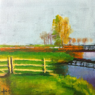 Dutch Countryside by Liza Hirst