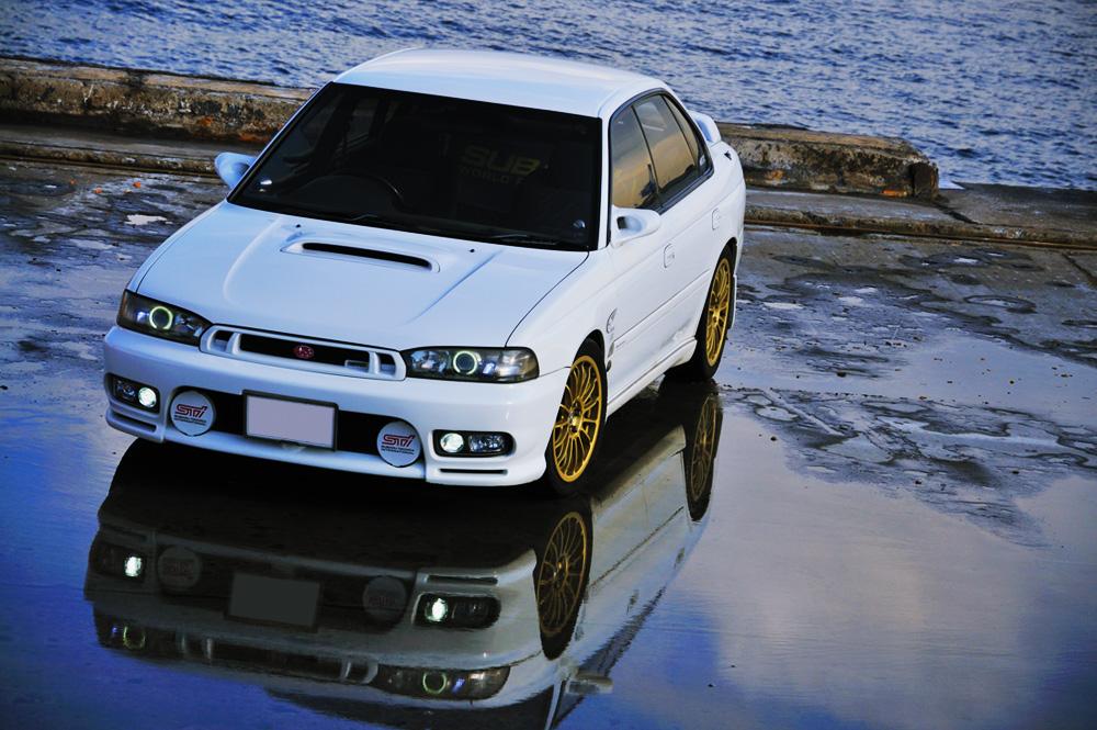 Subaru Legacy II-gen. 1993 1998 BD, BG, BK 日本車 チューニングカー スバル japoński samochód boxer tuning zdjęcia sedan
