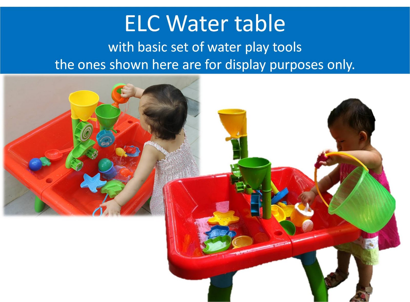 ELC water table for rent + basic set of water play toys 12 months- 7 years  sc 1 st  Singapore Toy Rental - Blogger & Singapore Toy Rental: ELC water table for rent + basic set of water ...
