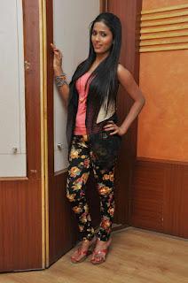 Prashanthi at affair press meet 004.jpg