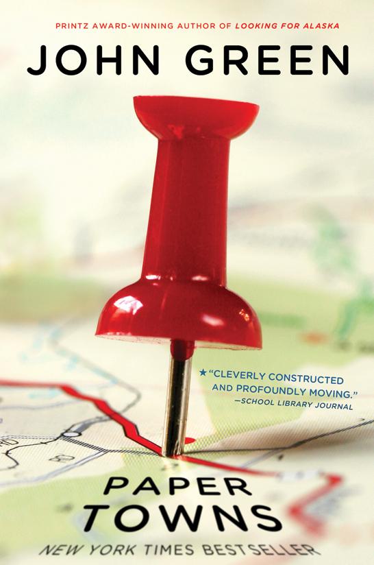 Ciudades de papel reseña John Green Paper towns