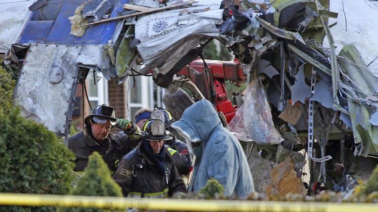 Chicago Plane Crashes Into Elder Couple's Home
