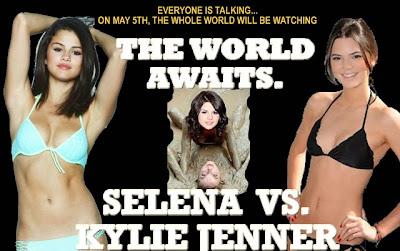 Selena Gomez Kylie Jenner fight hot bikini