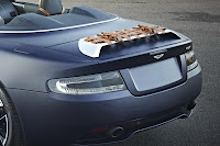 Aston Martin Virage with Q customizations