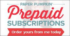 Pre-Paid Paper Pumpkin Kits!!