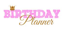 Birthday Planner mit Herz