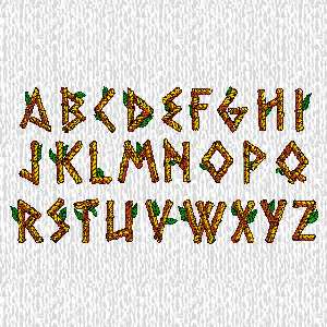 Bamboo Lettering6