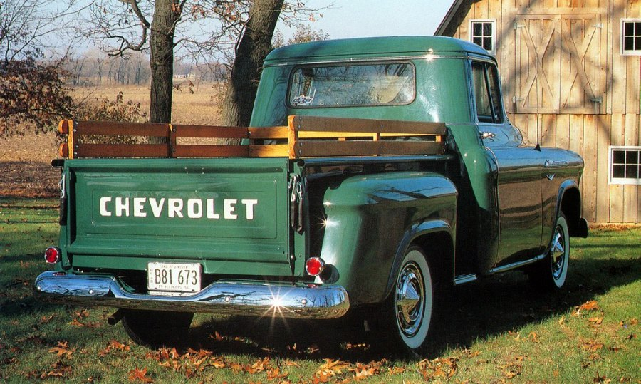 1956 Chevy Truck Engine Color http://vintagefarmhouseme.blogspot.com/2011/02/color.html