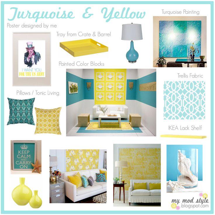 The blue birdhouse 6 essential steps to aparment decorating - Color schemes for home decor ...