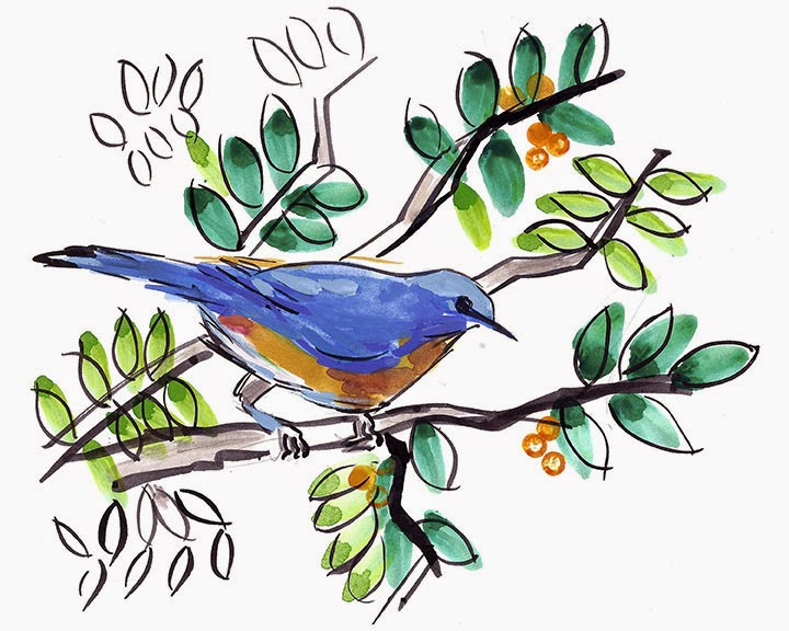 Bluebird by Char Fitzpatrick