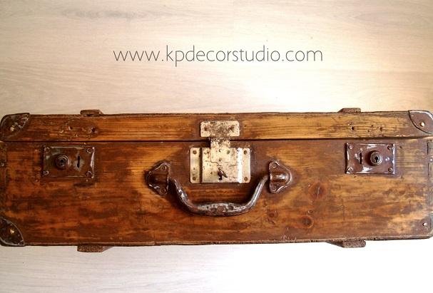 Comprar maletines vintage antiguos, originales y baratos